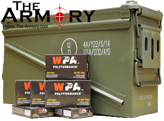Buy This 223 Remington (5.56x45mm) 55 gr FMJ Wolf Polyformance Ammo for Sale
