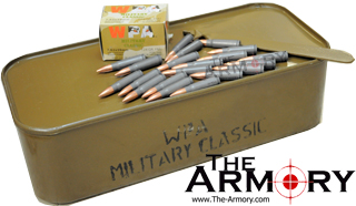 Buy This 7.62x39mm 123 - 124 gr. FMJ WPA Military Classic in a Spam Can in a PA120 Ammo Can for Sale