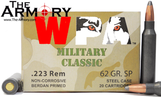 Buy This 223 Remington (5.56x45mm) 62 gr SP (Soft Point) Wolf WPA MC Ammo for Sale