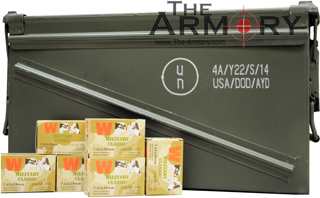 Buy This 7.62x39 124 gr FMJ Wolf WPA MC Ammo for Sale