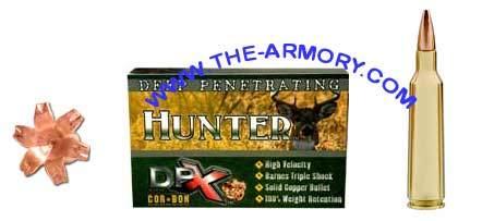Buy This 30-30 Winchester 150 gr DPX HUNTER Corbon Ammo for Sale