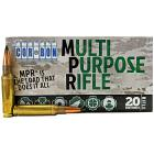 308 Win (7.62x51mm) 168gr Corbon Multi Purpose Rifle Ammo Box (20 rds)
