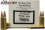 Buy This 223 Remington 55gr BlitzKing Polymer Tip Corbon Ammo for Sale