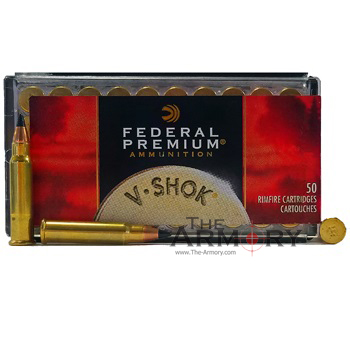 17 HMR V-SHOK 17gr Hornady V-Max Federal Ammo Box (50 rds)
