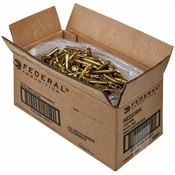 223 Remington (5.56x45mm) 55gr FMJ Federal American Eagle Ammo Case (1000 rds)