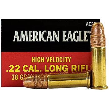 22LR 38gr CPHP Federal American Eagle Ammo Box (40 rds)