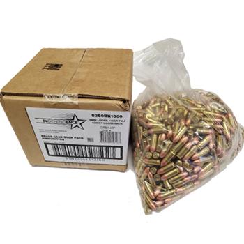 9mm Luger 115gr FMJ Federal Independence Ammo Case
