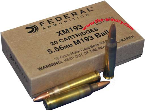 Buy This 223 Rem (5.56mm) Federal XM193, Lake City, 55 gr 500 Rd Case Ammo for Sale