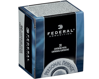 45 ACP (45 Auto) 185gr Federal Personal Defense JHP Ammo Box (20 rds)
