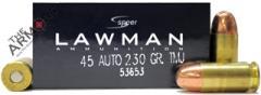 Speer Lawman 45 ACP 230gr TMJ