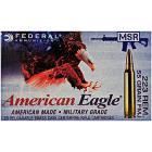 223 Remington 55gr FMJBT Federal American Eagle Tactical MSR Ammo Case (500 rds)