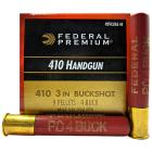 "410 3"" 4-Buck Federal Premium Personal Defense Ammo (20 rds)"