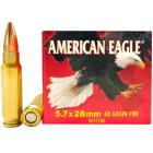 5.7x28mm 40gr FMJ American Eagle Federal Ammo Box (50 rds)