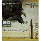 5.56x45mm 62gr FMJBT Federal American Eagle MSR Ammo Box (90 rds)