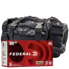 9mm 115gr FMJ Federal Champion Training Ammo - 350rds in The Armory Black Python Range Bag