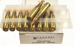 Buy This 308 Win (7.62x51mm) NATO 149gr FMJBT Federal Ammo for Sale