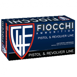 9mm Luger (9x19mm) 115gr FMJ Fiocchi Ammo Box (50 rds)