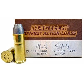 44 Spl 240gr LFN Cowboy Magtech Ammo Box (50 rds)