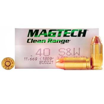 40 S&W 180gr FEB-Flat Magtech Ammo Box (50 rds)