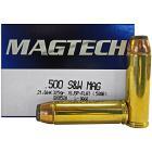 500 S&W 325gr SJSP-Flat Magtech Ammo Box (20 rds)