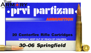 Buy This 30-06 Springfield 150 gr FMJ PPU Ammo for Sale