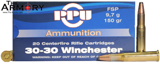 Buy This 30-30 Winchester 150 gr SP PPU Ammo for Sale