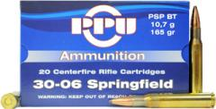 Buy This 30-06 Springfield 165 gr PSP PPU Ammo for Sale