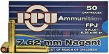 Buy This 7.62 Nagant (7.62x38R) 98 gr PPU Ammo for Sale