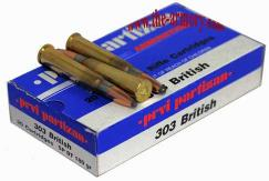 Buy This 303 British 180gr SPBT PPU Ammo for Sale