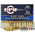 Buy This 357 Sig 125 gr FPJ PPU Ammo for Sale