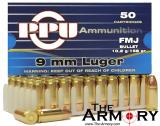 Buy This 9mm Luger (9x19mm) 158 gr FMJ PPU Ammo for Sale