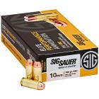 10mm 180gr FMJ Sig Sauer Elite Ball Elite Performance Ammo Box (50 rds)