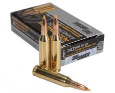 243 Winchester 55gr Varmint & Predator Sig Sauer Elite Performance Ammo Box (20 rds)