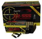 22LR 60gr Aguila SSS Solid Ammo Brick (500 rds)