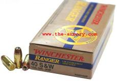Buy This 40 S&W 155gr JHP Winchester Ranger Ammo for Sale