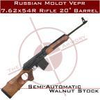 """Russian Molot Vepr 7.62x54R Rifle 20"""" Barrel"""
