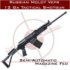 Russian Molot Vepr 12ga Tactical Shotgun w/ Fixed Stock