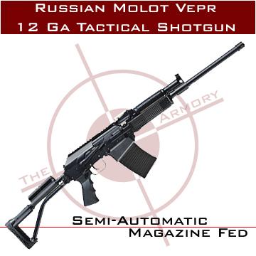 Buy This Russian Molot Vepr 12 Ga Tactical Shotgun w/ Fixed Stock for Sale
